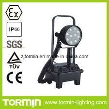explosion proof led work light china ce explosion proof led battery portable led work light china
