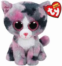 buy ty beanie boo u0027s pink cat lindi regular michaels