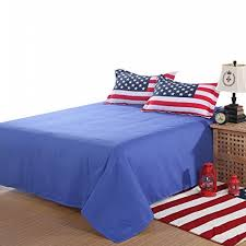 American Flag Duvet Lt Twin Full Queen Size Cotton Usa United State American Flag