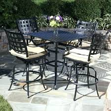 Patio Table Bar Height Bar Height Bistro Set Outdoor Bar Height Bistro Table