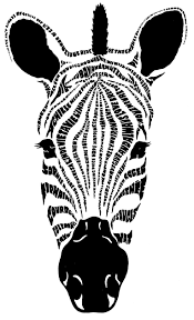 zebra head coloring page 13 best photos of zebra head coloring