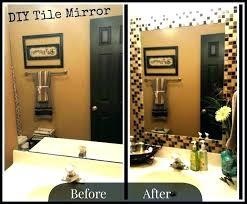 Trim Around Bathroom Mirror Wood Trim Around Bathroom Mirror Justget Club