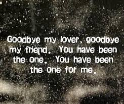james blunt goodbye my lover i love this song even tho i cry