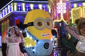denver parade of lights 2017 annual parade of lights illuminates downtown denver westword