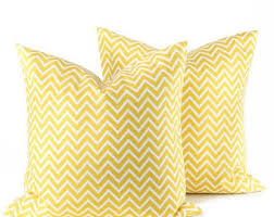 Decorative Pillow Sale Yellow Pillows Etsy