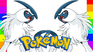 coloring absol pokemon go coloring pages for kids youtube