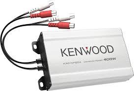 kenwood kac m1804 compact 4 channel amplifier u2014 45 watts rms x 4