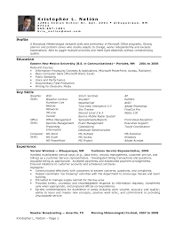 Sample Resume Objectives No Experience by Entry Level Resume No Experience Resume For Your Job Application