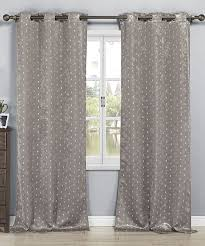 Big Lots Blackout Curtains by Gray Metallic Ellie Kelvin Blackout Curtain Panel Set Of Two