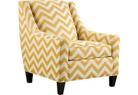 yellow accent chair zig zag u2014 modern home interiors yellow