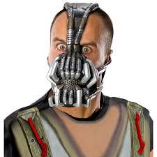 bat mask halloween batman the dark knight rises bane 3 4 mask buycostumes com