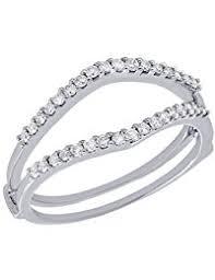 Wedding Ring Enhancers by Amazon Com Diamond Ring Enhancers Wedding U0026 Engagement