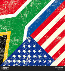 African Flag Usa South African Grunge Flag Vector U0026 Photo Bigstock