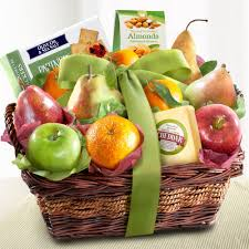 thank you baskets thank you fruit gifts a gift inside