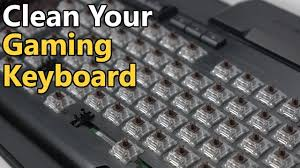 how to clean a mechanical gaming keyboard 2016 youtube