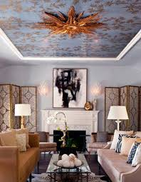 Textured Wallpaper Ceiling by Ceiling Designs 15 Ideas For Ceiling Decorating With Modern Wallpaper