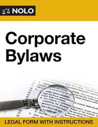 corporate bylaws nolo