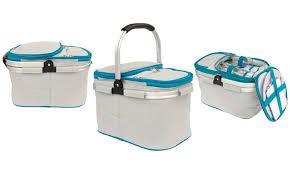 Picnic Basket Set For 2 Useful Picnic Basket Set For 2 Groupon Goods
