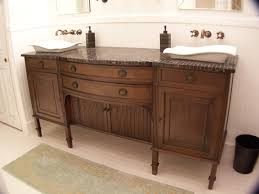 buffet turned vanity furniture make overs pinterest buffet
