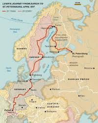 Map Of Russia And Alaska by Vladimir Lenin U0027s Return Journey To Russia Changed The World