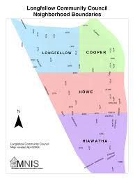 Minneapolis Neighborhood Map The Longfellow Community Longfellow Community Council