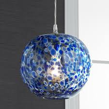 Blown Glass Light Pendants 16 Best Blue Kitchen Decorating Images On Pinterest Glass
