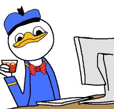 Meme Donald Duck - donald duck meme face mne vse pohuj