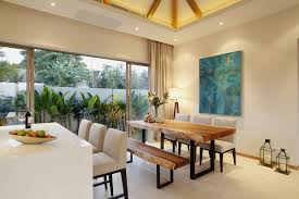 Tropical Dining Room by Modern Tropical 3 Bedroom Pool Villa In Bang Tao Layan Area