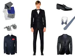 black tie attire men in black the ideal attire for a black tie event idiva