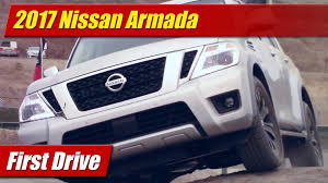 nissan armada 2017 near me first drive 2017 nissan armada testdriven tv