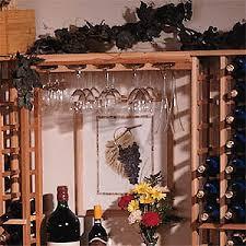 redwood modular wine rack kit wine glass rack wine enthusiast