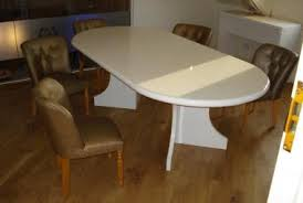 White Gloss Meeting Table Clearance Office Furniture For Sale Scott Associates