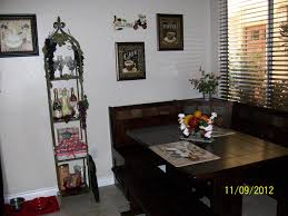 kitchen nook breakfast table corner of and kmart images furniture