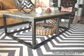 Diy Industrial Dining Room Table How To Build A Diy Industrial Coffee Table For Only 75 24 House