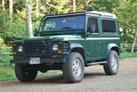 1995 land rover defender interior 1995 land rover defender 90 station wagon for sale the motoring