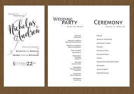 wedding program designs wedding programs detail wedding design