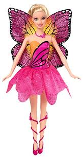 amazon barbie mariposa fairy princess mariposa doll