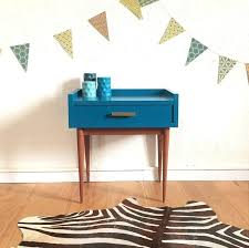 le de chevet chambre table chevet vintage chambre gris et vert 13 meuble table de chevet
