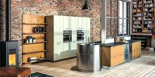 cuisine alu cuisine alu et bois cuisine en en cuisine blanc bois alu cethosia me