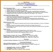 Sample Resume Skills Summary by Resumes Computer Skills Section Writing Sweet Best Skills For