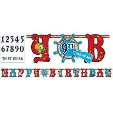 disney jake neverland pirates age happy birthday jumbo