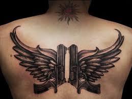 best 25 gun tattoos ideas on pinterest pistol gun tattoos