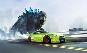 nissan godzilla 2016 check out these beautiful renderings of a humongous godzilla and