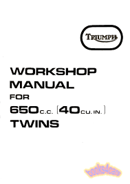 triumph t120r bonneville 1968 repair service pdf download