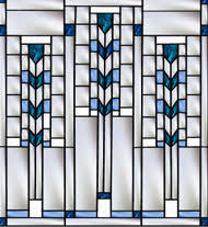 Frank Lloyd Wright Style Frank Lloyd Wright Inspired Stained Glass U2013 Pompei Stained U0026 Fused