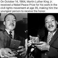 Martin Luther King Day Meme - dopl3r com memes on october 14 1964 martin luther king jr