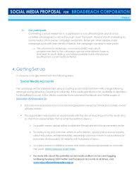 katso media social media proposal sample template
