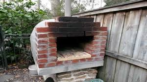 homemade brick clay castable pizza oven youtube