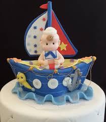 nautical birthday cake topper ahoy its a boy nautical baby