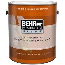 behr premium plus ultra 1 gal medium base high gloss interior
